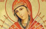 Молитва рождеству пресвятой богородице