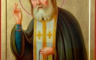 Молитва серафима саровского на исцеление
