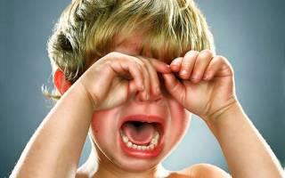 Молитва от истерики у младенца