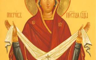 Молитва семье покрову пресвятой богородицы