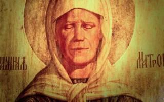 Молитва об исцелении больного святой матроны