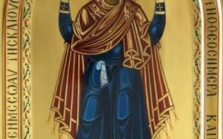 Икона нерушимая стена значение и молитва