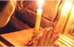Молитва перед иконами святых