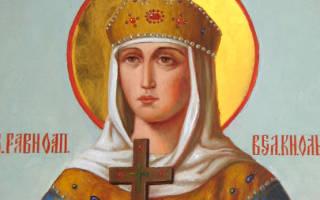 Молитва о замужестве святой ольги