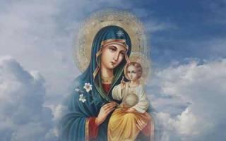 Молитва оберег ребенка во сне