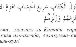 Молитва проклятие на врага ислам