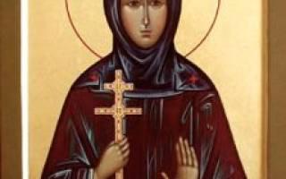 Молитва ефросиньи полоцкой икона