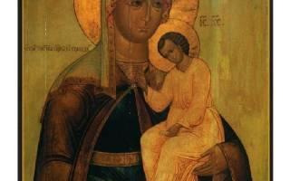 Икона избавление от бед молитва