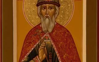 Молитва благоверному князю владимиру