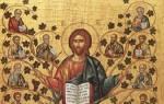 Молитва к иконе виноградная лоза