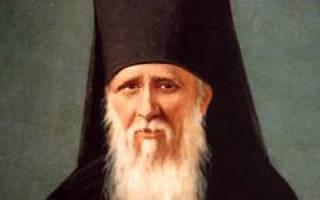Молитва оптинские старцы для чего читают
