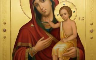Молитва благословить детей покрова божьей матери
