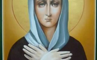 Икона ксении петербургской в чем помогает молитва