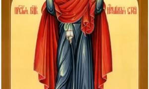 Молитва богородице нерушимая стена для чего