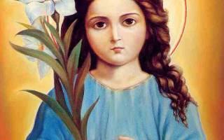 Молитва божьей матери трилетствующая