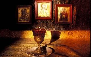 Утренняя молитва от пасхи вознесения