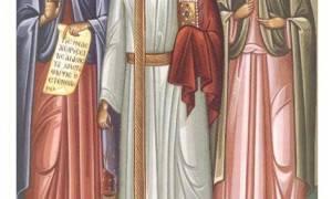 Святой гурий самон и авив молитва о семье