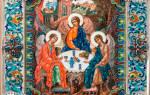 Молитва трисвятое на русском