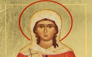Молитва святой татьяне в день ангела