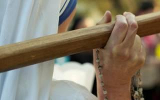 Молитва в католической церкви