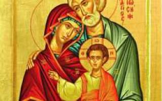 Святой иосиф обручник молитва