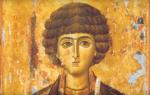 Святой великомученик и целитель пантелеймон молитва об исцелении