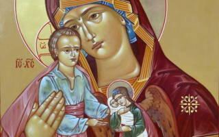 Милосердия двери отверзи нам молитва