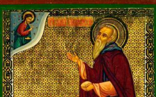 Преп давид гареджийский молитва