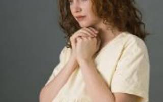 Божья матерь молитва беременной женщины