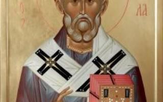 Миколай чудотворець молитва