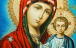 Икона казанская божьей матери значение и молитва