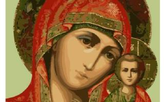 Молитва пресвятой богородицы за чадо свое