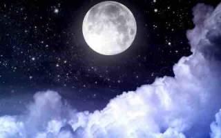 Сильная молитва на убывающей луне