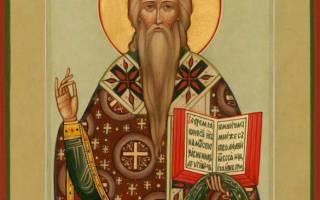 Православная молитва при боли в горле