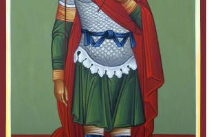 Молитва святому мученику фанурию
