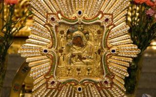 Молитва перед иконой почаевской богоматери