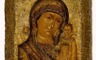 Как молитва иконе казанской божьей матери