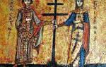 Тропарь и молитва кресту честному