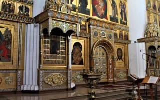 Сугубая молитва монастырь
