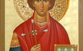 Молитва святому пантелеймону целителю для ребенка