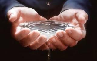 Молитва по очищению воды