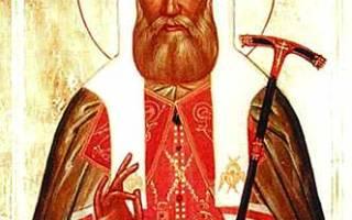 Молитва патриарха тихона