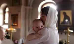 Молитва помощь родах