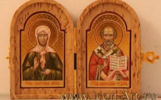 Молитва матроне и николаю угоднику