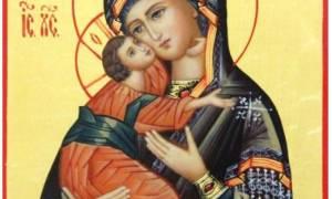 Молитва иконе владимирской божьей
