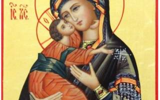Молитва святой владимирской божьей матери