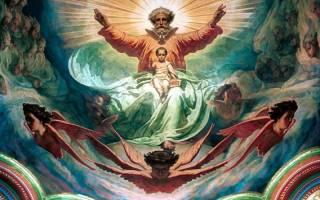 Икона бог саваоф молитва