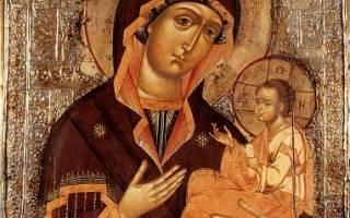 Чудотворная икона грузинской божьей матери молитва