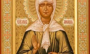 Молитва матроне московской о зачатии на русском языке