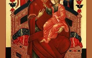 Икона молитва от рака в москве